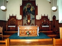 Church alter